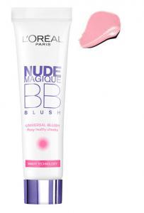 Fard de obraz iluminator L'OREAL Nude Magique BB Blush - Universal Rosy, 15ml0