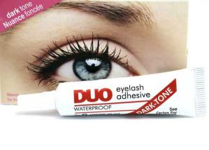 Adeziv Profesional Gene False DUO Eyelash Waterproof - Dark Tone1