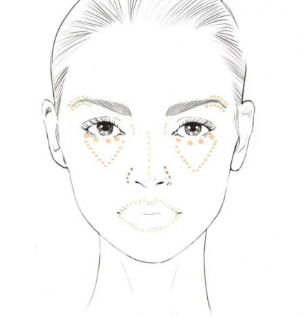 Anticearcan Corector Profesional INGRID Cosmetics Ideal Skin Concealer, Nuanta 11, 7 ml2