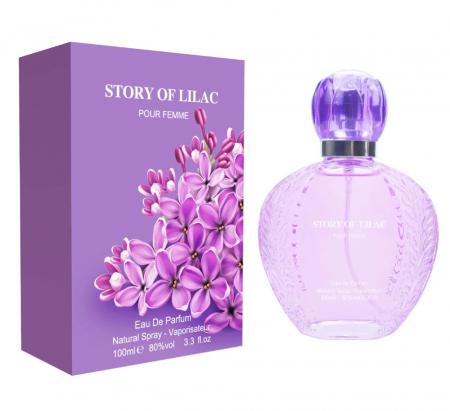 Apa de Parfum Story Of Lilac Fine Perfumery Eau De Parfum, Ladies EDP, 100 ml