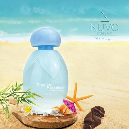 Apa de Toaleta NUVO Parfums Tropical Paradise Pour Femme EDT, 100 ml1