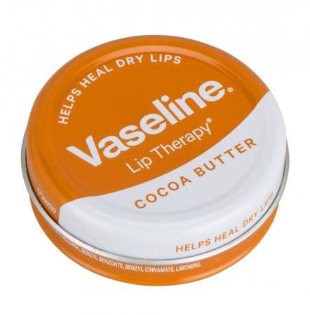 Balsam de buze Vaseline Lip Therapy cu Unt de Cacao, 20 g