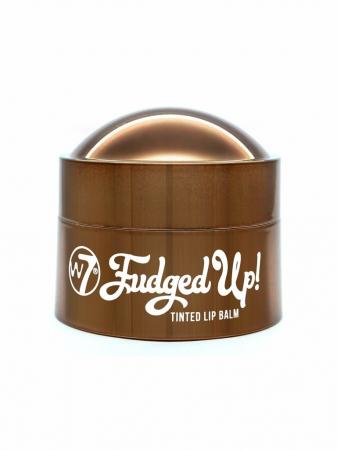 Balsam de buze cu Ciocolata, Ulei de Jojoba si Vitamina E, W7 Fudged Up Tinted Lip Balm, 13 g