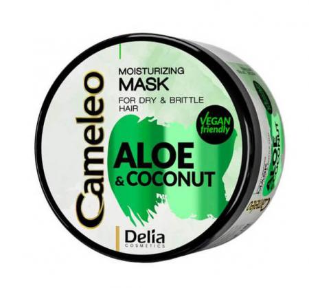 Masca pentru par fragil si uscat Delia Cameleo cu extract de Aloe si Cocos, 200 ml