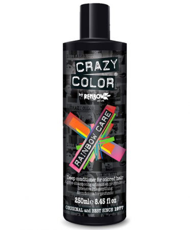 Balsam pentru par vopsit CRAZY COLOR Rainbow Care Conditioner, 250 ml