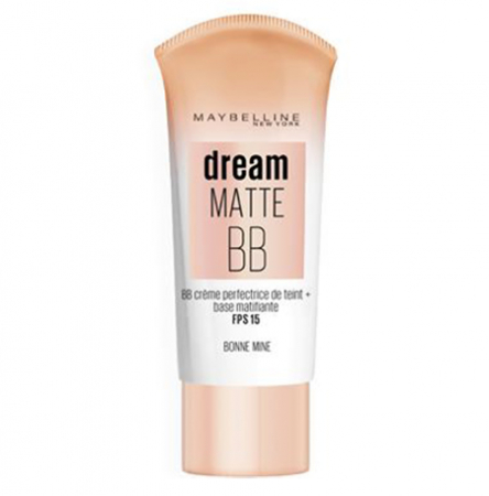 BB Cream Maybelline New York Dream Matte 8 in 1, Bonne Mine, 30 ml