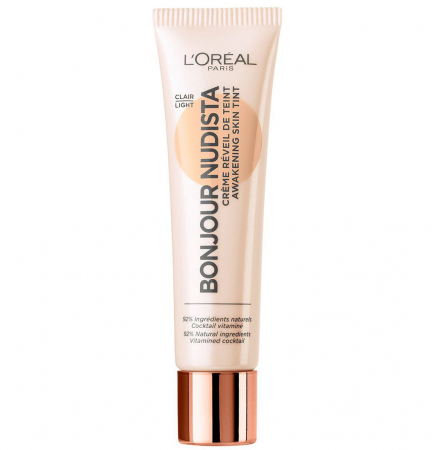 BB Cream L'Oreal Paris Bonjour Nudista, Light, 30 ml