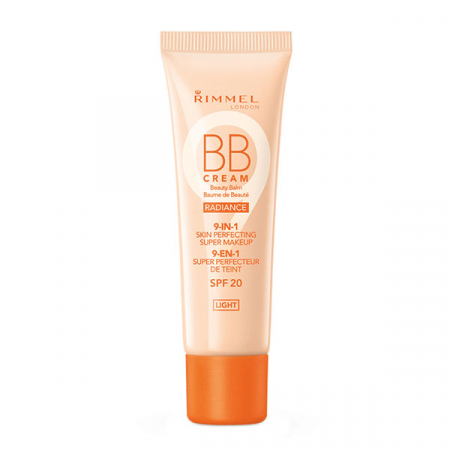 BB Cream Rimmel London 9 In 1 Radiance Skin Perfecting, Light, 30 ml