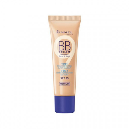 BB Cream Rimmel London 9 In 1 Skin Perfecting, Medium, 30 ml
