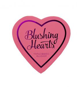 Blush Iluminator Makeup Revolution I Heart Makeup Blushing Hearts - Peachy Keen, 10g1