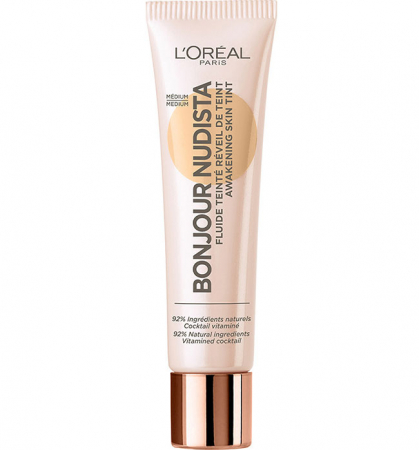 BB Cream L'Oreal Paris Bonjour Nudista, Medium, 30 ml