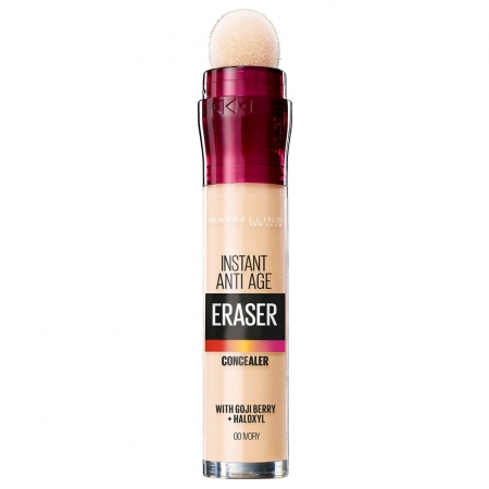 Anticearcan Maybelline New York Instant Anti-Age Eraser Concealer 00 Ivory, 6.8 ml
