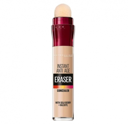 Anticearcan Maybelline New York Instant Anti-Age Eraser Concealer 01 Light, 6.8 ml