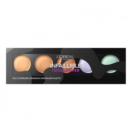 Paleta corectoare L'Oreal Paris Infaillible Total Cover, 10 g