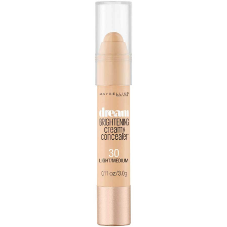 Creion Corector Maybelline New York Dream Brightening Creamy Concealer, 30 Light Medium3