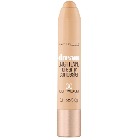 Creion Corector Maybelline New York Dream Brightening Creamy Concealer, 30 Light Medium