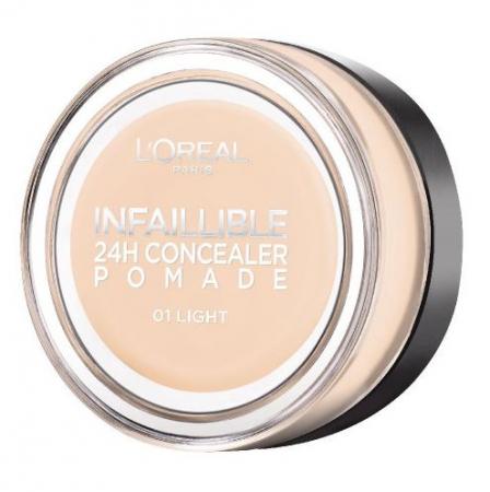 Corector L'Oreal Paris Infallible 24Hr Concealer Pomade, 01 Light, 15 g2