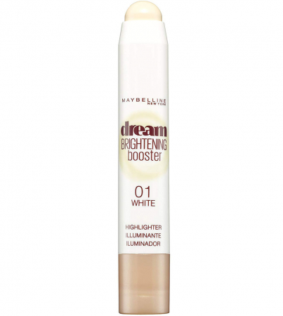 Creion Corector Maybelline New York Dream Brightening Booster Highlighter, 01 White, 3 g