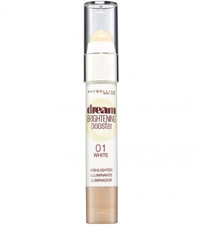 Creion Corector Maybelline New York Dream Brightening Booster Highlighter, 01 White, 3 g1