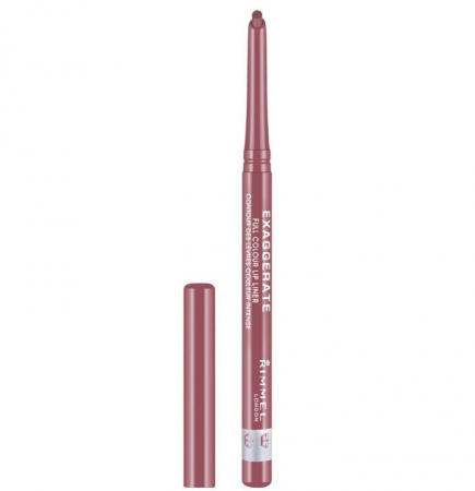 Creion de buze retractabil Rimmel London Exaggerate Lip Liner, 063 Eastend Snob