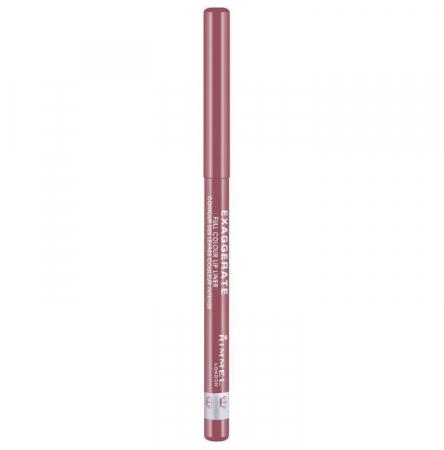 Creion de buze retractabil Rimmel London Exaggerate Lip Liner, 063 Eastend Snob1
