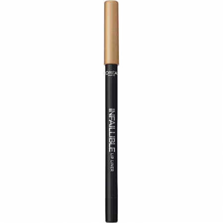 Creion de buze rezistent la transfer L'Oreal Paris Infallible Lip Liner, 001 Highlight On Point