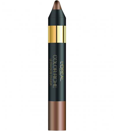Creion de ochi L'Oreal Paris COLOR RICHE Le Crayon De Couleur, 02 Enigmatic Brown