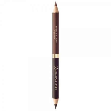 Creion de Ochi Max Factor Eyefinity Smoky Eye Pencil, 02 Black Charcoal & Brushed Cooper0