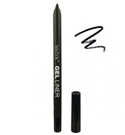 Creion de ochi rezistent la transfer Technic Gel Liner, Waterproof, Negru, 1.5 g1