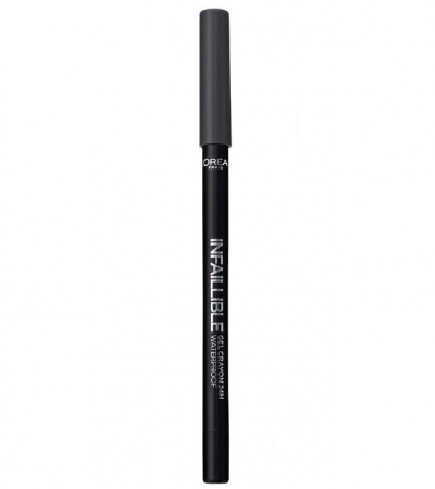 Creion de ochi rezistent la transfer L'Oreal Paris Infaillible Gel Crayon Waterproof 24H, 002 Grey Fever