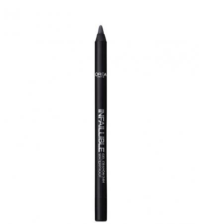 Creion de ochi rezistent la transfer L'Oreal Paris Infaillible Gel Crayon Waterproof 24H, 002 Grey Fever1
