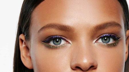 Tus de ochi Maybelline New York Master Ink Liquid Eyeliner, Metallic, 32 Twilight Purple3