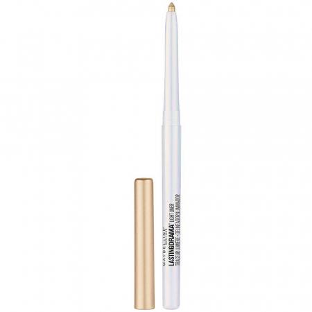 Creion de ochi pentru luminozitate MAYBELLINE Lasting Drama Light Liner, 40 Mattelight Beige4
