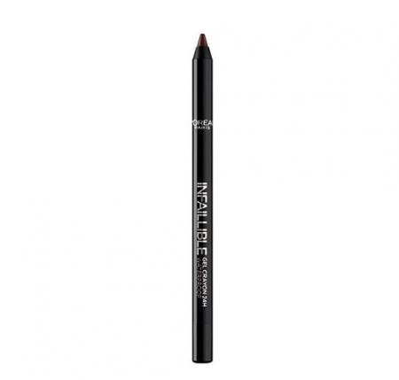 Creion de ochi rezistent la transfer L'Oreal Paris Infaillible Gel Crayon Waterproof 24H, 004 Taupe Of The World1