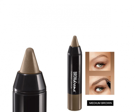 Creion pentru sprancene Maybelline New York BROW Drama Pomade Crayon, Medium Brown1