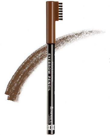 Creion pentru sprancene Rimmel London Professional Eyebrow Pencil, 002 Hazel, 1.4 g