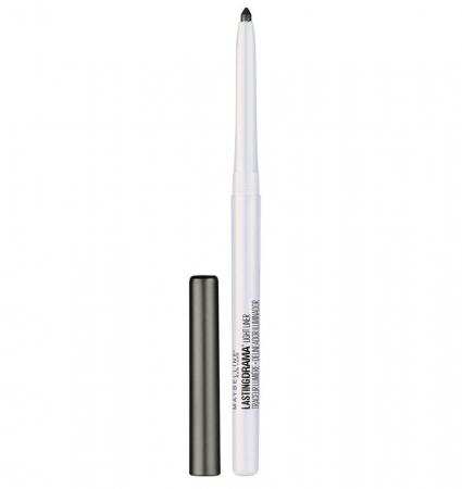 Creion Iluminator MAYBELLINE New York Master Drama Lightliner, 45 Spacelight Black0
