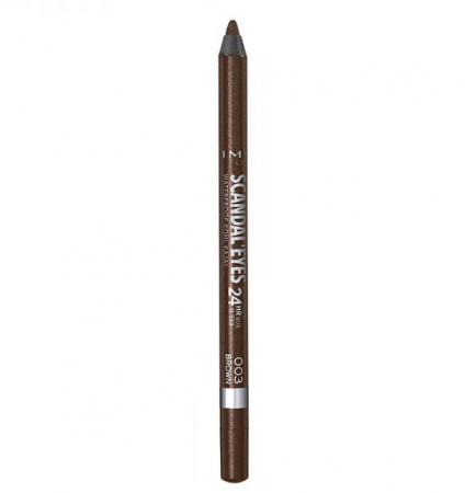Creion de ochi Rimmel London Scandal' Eyes Waterproof Kohl Kajal 24H, 003 Brown