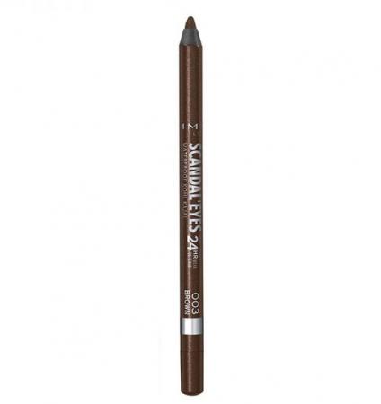 Creion de ochi Rimmel London Scandal' Eyes Waterproof Kohl Kajal 24H, 003 Brown0