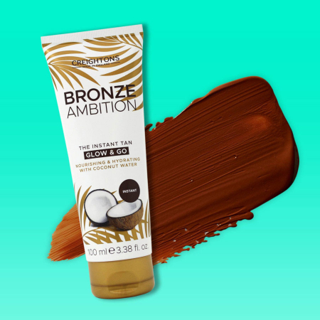 Crema Autobronzanta Pentru Bronzare Graduala CREIGHTONS Bronze Ambition Fake Don't Bake cu Ulei de Cocos, 100 ml5