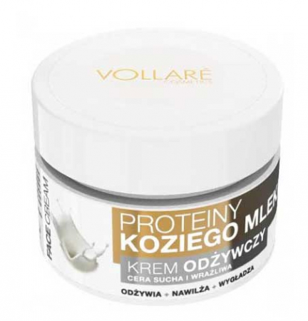 Crema cu 7 Uleiuri Esentiale si Proteine din Lapte de Capra VOLLARE Maximum Regeneration, BIO, 50 ml1