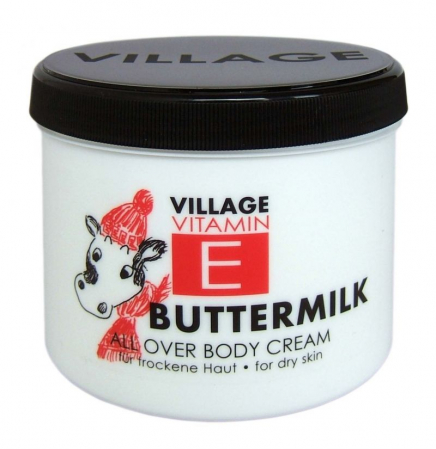 Crema De Corp VILLAGE COSMETICS Cu Vitamina E Buttermilk Special, 500 ml