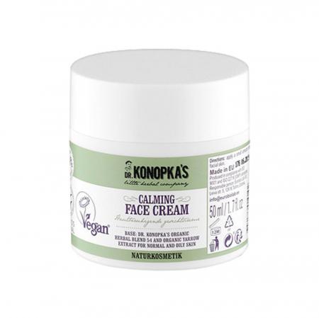 Crema de fata calmanta cu extract organic de coada-soricelului, DR. KONOPKA'S, Ingrediente 98.9% Naturale, 50 ml1