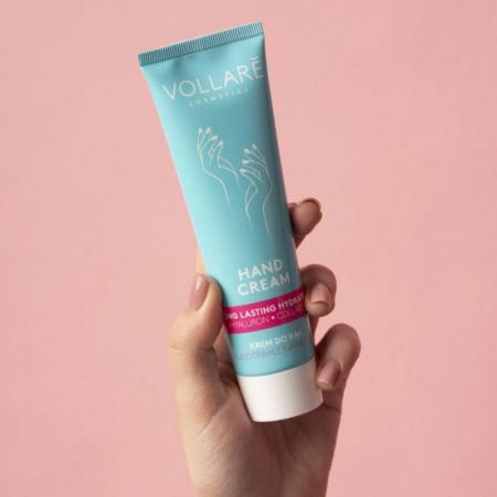 Crema de maini ultra-hidratanta VOLLARE cu acid hialuronic si colgen, 100 ml1
