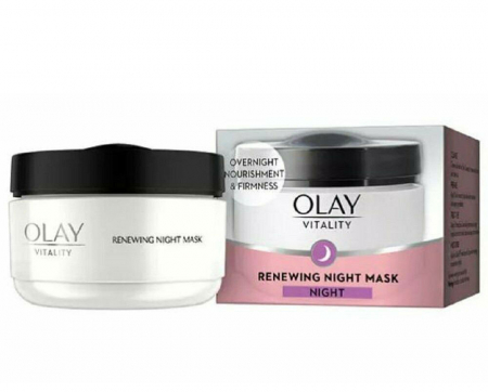 Crema De Noapte Anti-Rid OLAY Vitality Renewing Night Mask, 50 ml
