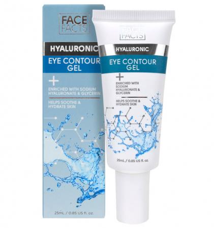 Crema contur pentru ochi cu Acid Hialuronic, FACE FACTS, 25 ml