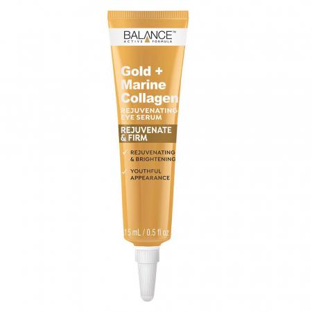 Crema pentru ochi cu Aur si Colagen Marin BALANCE ACTIVE Rejuvenating & Firm, 15 ml1