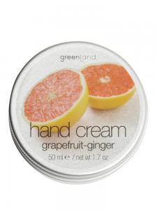 Crema de Maini Greenland cu Grapefruit si Ghimbir - 50 ml