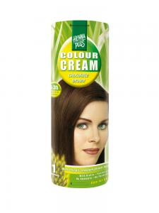 Crema Nuantatoare de Par HennaPlus Colour Cream - Chocolate Brown 5.35