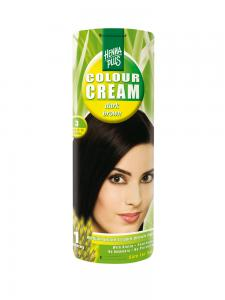 Crema Nuantatoare de Par HennaPlus Colour Cream - Dark Brown 3